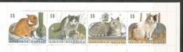 Postzegelboekjes B24 **. Natuur. Katten - Booklets 1953-....