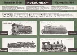 Catalogue FULGUREX 1966 Supplement Du Catalogue Tenshodo 2éme Edition - En Français, Allemand Et Anglais - Libros Y Revistas