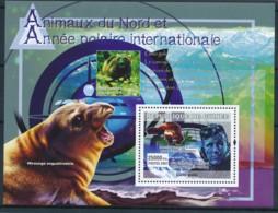 D - [402133]TB//**/Mnh-Guinée 2007 - Animaux Du Nord Et Année Polaire Internationale - International Polar Year