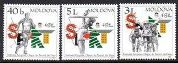 Moldavie Moldova 0404/06 Olympisme De La Jeunesse, Paris, Europe, Cyclisme - Olympic Games