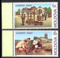 Moldavie Moldova 0422/23 Europa, Archèologie, Vin, Vigne - Europa-CEPT
