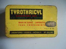 Ancienne Boite Vide Tyrothricyl - Autres