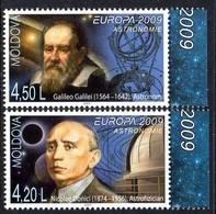 Moldavie Moldova 0565/66 Europa, Astronomie - Europa-CEPT