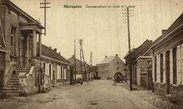 Merxplas Merksplas Gemeentehuis En Zicht In't Dorp    ANVERS ANTWERPEN - Merksplas