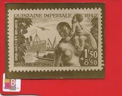 Rare Photo Timbre Quinzaine Impériale 1942 Poste Française Secours National Reportage Trampus Bureau Censure Vichy - Stamps