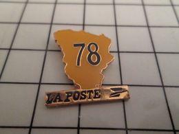 115d Pin's Pins / Rare & Belle Qualité !!! THEME POSTES / DEPARTEMENT 78 YVELINES LA POSTE Qui Pourrait Se Remettre à Bo - Postes