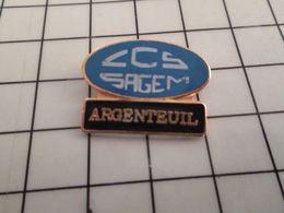 115d Pin's Pins / Rare & Belle Qualité !!! THEME MARQUES / CCS SAGEM ARGENTEUIL - Postes