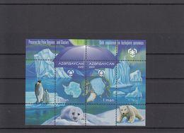 Azerbaijan 2009 - Preserve The Polar Regions And Glaciers MNH ** - Azerbaijan