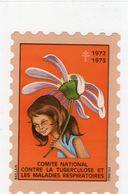Moyenne Vignette,anti-tuberculeuse De 1972-73,neuve. - Erinnophilie