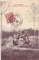 Torino Castellamonte Passaggio Orco Per Rivarotta / RARE ET TRES BELLE CARTE PAPIER GLACE 1909 - Non Classificati