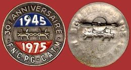 ** BROCHE  F. N. C. P. G.  1945 - 75 ** - 1939-45