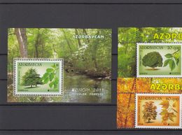 Azerbaijan 2011 - Europa Stamps + Sheet MNH ** - Azerbaijan