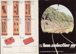 Catalogue LIMA 1975 SELECTION HO Scale - Swedisch Ausgabe Folder - En Suédois - Libros Y Revistas
