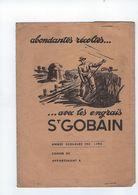 Portege Cahier Les Engrais Saint Gobain Annee 1930 - Agricultura