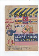 Portege Cahier Boulangerie   Grands Moulins De Corbeil - Alimentaire