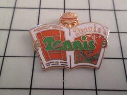 115d Pin's Pins / Rare & Belle Qualité !!! THEME : MEDIAS / EN RELIEF TENNIS MAGAZINE Par DECAT - Médias