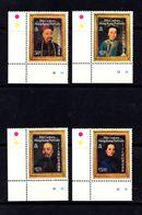 HONG  KONG    1986    19th  Century  Portrates    Set  Of  4    MNH - Hong Kong (...-1997)