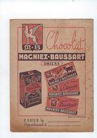 Portege Cahier  Chocolat  Magniez-baussart 80 Amiens - Kakao & Schokolade
