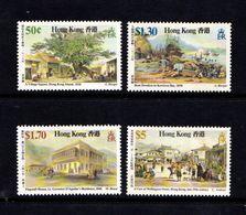 HONG  KONG    1987    19th  Century  Scenes    Set  Of  4    MNH - Hong Kong (...-1997)