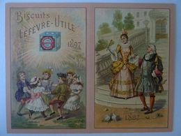 CHROMO LEFEVRE- UTILE 1897- Ronde D'enfants Et échope. ETAT NEUF. - Lu