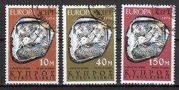 Cyprus  Europa Cept 1974 Gestempeld Fine Used - Europa-CEPT