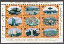 Mongolia - Correo 1999 Yvert 2332/40 ** Mnh  Vistas - Mongolie