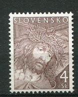 """Slovaquie ** N° 318 - Pâques. """"détail Du Visage Du  Christ"""" - Slovacchia"""