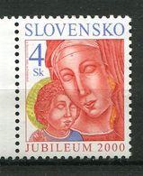 Slovaquie ** N° 335 -  Noël. Année Sainte 2000 (Madone) - Slovacchia