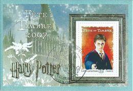 106. Fête Du Timbre Harry Potter 2007 - Gebraucht