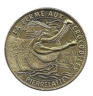 26 Pierrelatte, La Ferme Aux Crocodiles, Gavial Du Gange - Arthus Bertrand