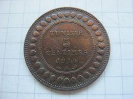 Tunisia , 5 Centimes 1914 - Tunisia