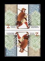Ukraine 2020 Mih. 1863 Europa. Ancient Postal Routes (tet-beche) MNH ** - Ukraine