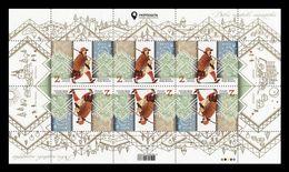 Ukraine 2020 Mih. 1863 Europa. Ancient Postal Routes (M/S) MNH ** - Ukraine