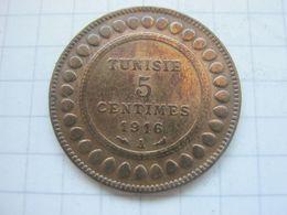 Tunisia , 5 Centimes 1916 - Tunisia