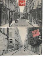 PARIS - Rue Saint Louis En L'Ile - Lot De 2 CPA - Arrondissement: 04