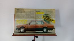 Coupure De Presse De 1985 Alfa Romeo Alfetta 1.8/2.0L - Voitures