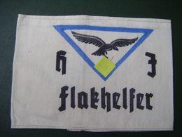 Brassard Allemand LUFTWAFFE WW2 HJ Flakhelfer Hitler Jugend - Uniforms
