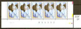 BELGIE * Nr 2518 * 5 Stuks - 150 Frank/franc / 3,72 Euro * Postfris Xx - Belgium