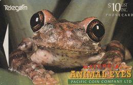 New Zealand - 1994 Animal Eyes - Frog - NZ-D-021 - New Zealand