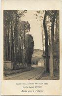 FORLIS-RAOUL ETEVE - MATIN GRIS A VILGENIS - SALON DES ARTISTES FRANCAIS 1935 - Carte Photo - Pintura & Cuadros