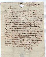 VP17.199 - 1834 - Lettre De MONTPELLIER Pour MONTBAZIN - Manuscritos