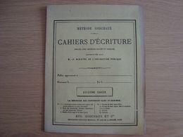 CAHIER D'ECRITURE METHODE GODCHAUX 12 éme CAHIER - Protège-cahiers