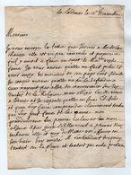 VP17.200 - 18?? - Lettre De  ? Pour ARRE - Manuscritos