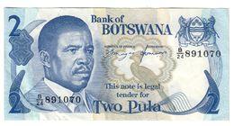 Botswana 2 Pula 1982 Pick 7d Sign.6 - Botswana