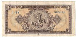 Romania 1 Leu 1952 - Rumänien