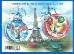 Championnats Du Monde D'haltérophilie 2011 - Oblitérés