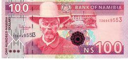 Namibia P.9a 100 Dollars 2003  Unc - Namibie