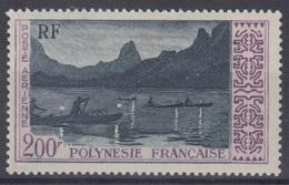 POLYNESIE FRANCAISE : POSTE AERIENNE 200F N° 4 NEUF * GOMME AVEC CHARNIERE - COTE 43 € - Neufs