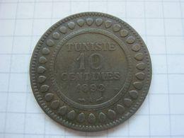 Tunisia , 10 Centimes 1892 - Tunisia
