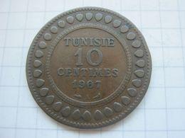 Tunisia , 10 Centimes 1907 - Tunisia